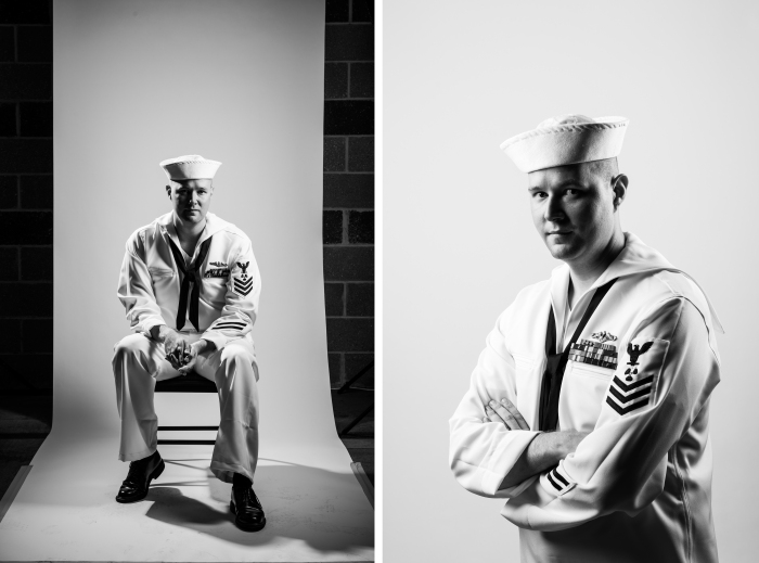 The Citadel in Charleston, SC, Veterans Portrait Project