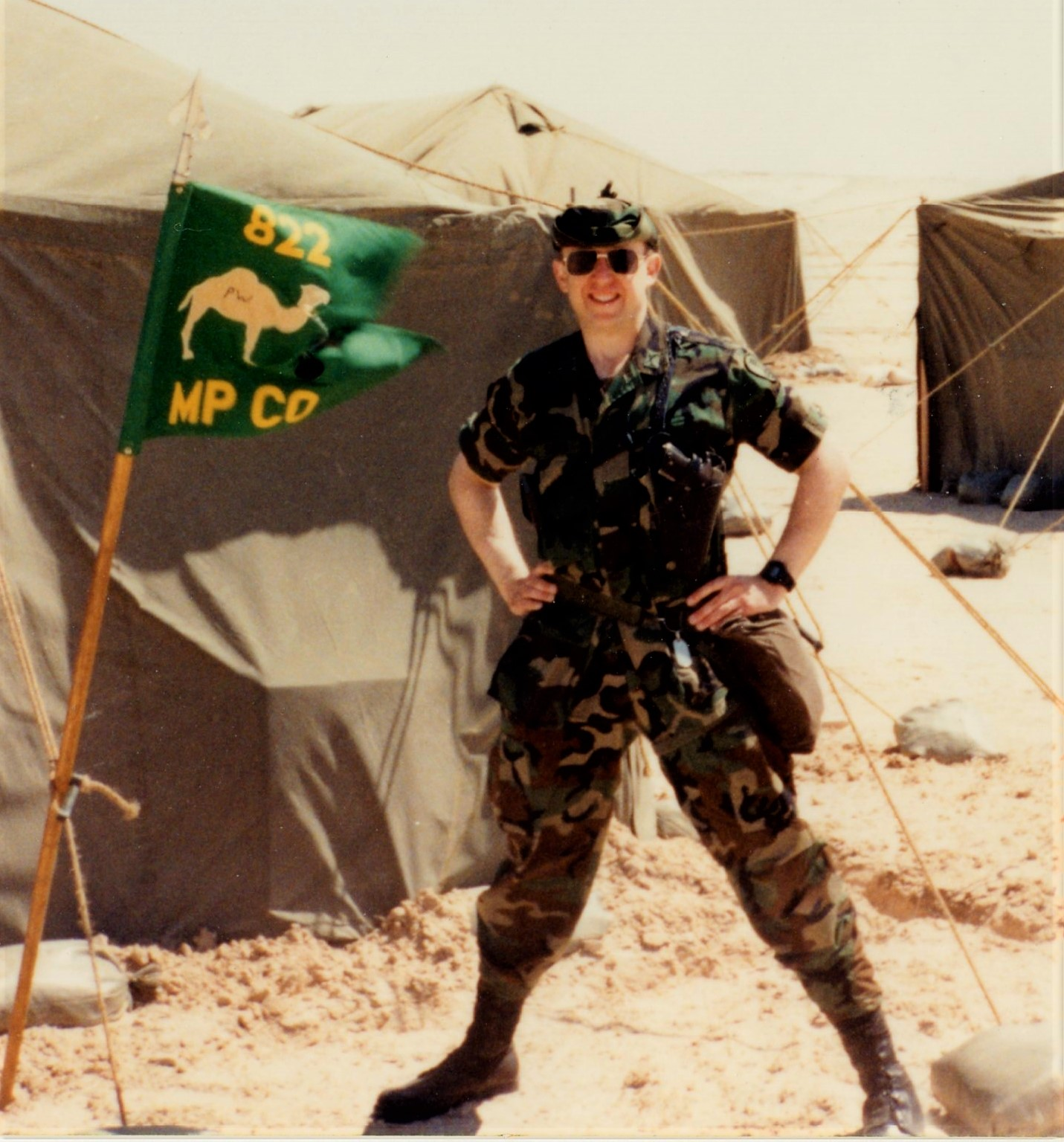 As Sarrar%2c Saudi Arabia%2c East POW Camp%2c late Winter 1991